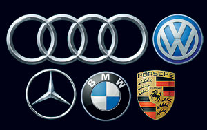 Mercedes, Audi and BMW 'downgrade' to attract new customers of popular brands