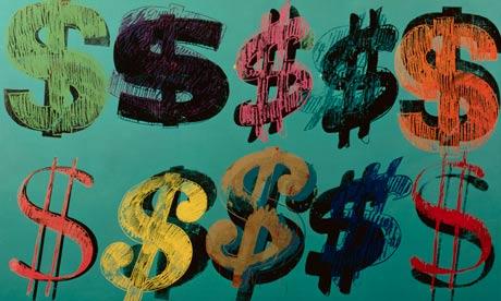 Dollar Signs by Andy Warhol