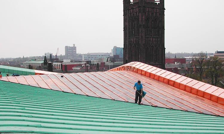 coating-copper-roof